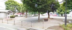 厚木グリーンコーポ裏の公園