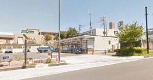 新桜ヶ丘団地付近のセブンイレブンの画像