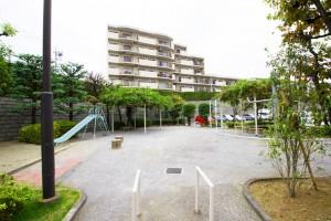 宮前平パームハウス内公園-(2)