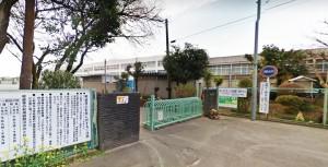 西鶴間小学校90m