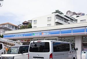 磯子台ハイツ101号室_ローソン横浜岡村七丁目店500m