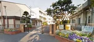 新桜ヶ丘団地の学区小学校、藤塚小学校の画像