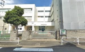 竹山小学校150m